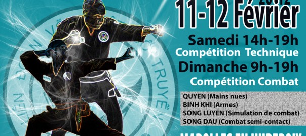 Open de France ouvert à tous les arts martiaux vietnamiens