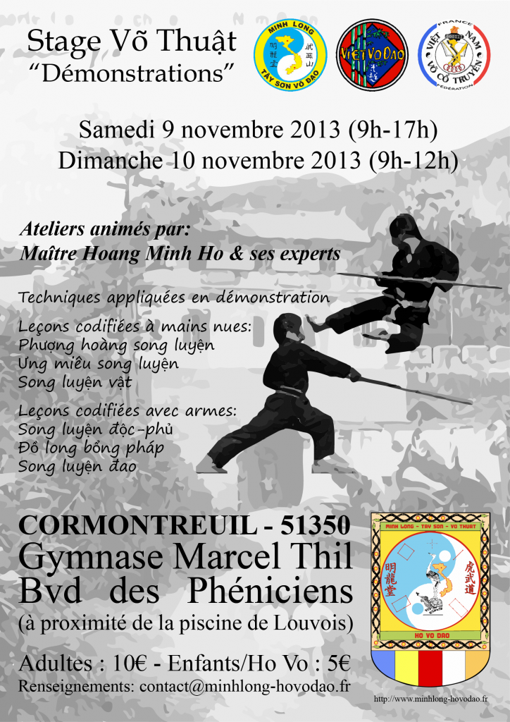 stage Cormontreuil 2013