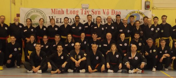 Photo groupe stage Minh Long Marolles
