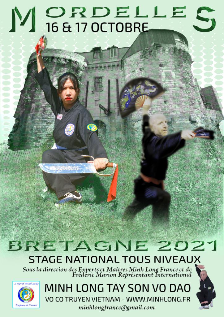 affiche stage national bretagne 2021