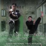 Affiche courrier invitation stage La Roche Posay 2021