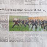 Article du journal Ouest France